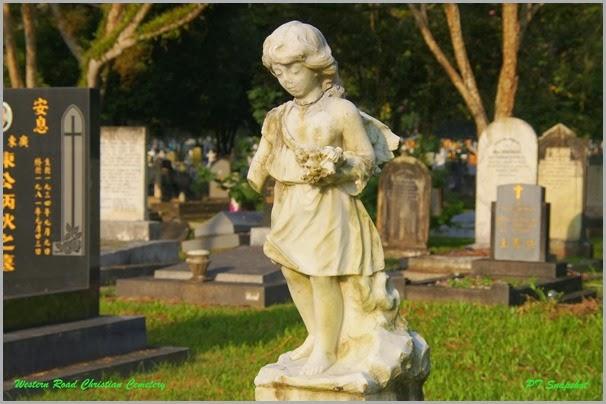西方路基督教墓园雕刻
