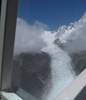 View From the Plane- Fox Glacier