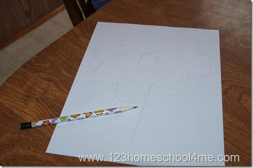 Simple Spring Craft for Toddlers, Preschoolers, Kindergarten