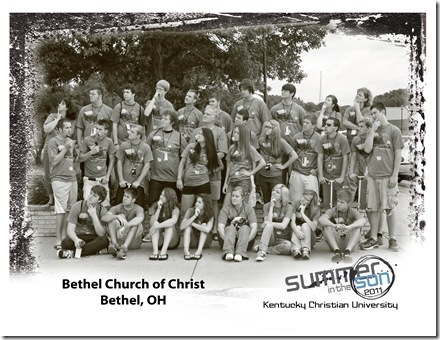 Bethel Church of Christ black and white group photo copy