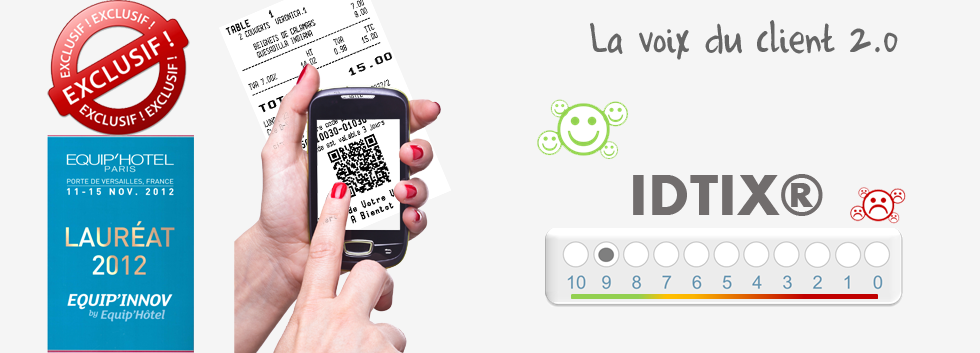 IDTIX® : La voix du client 2.0