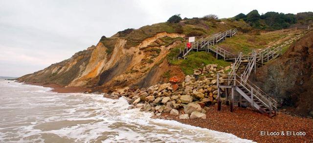 Alum Bay stairs