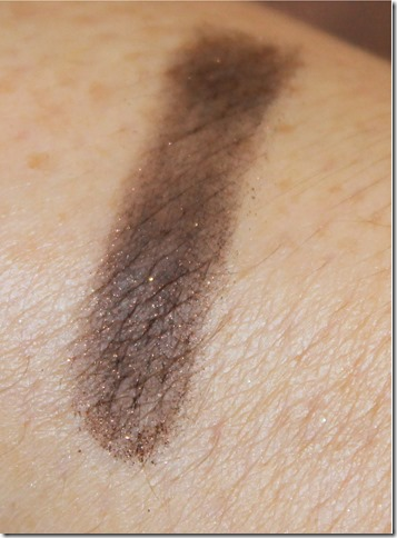 B&K Black Cocoa eyeshadow swatch