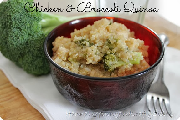 Chicken & Broccoli Quinoa