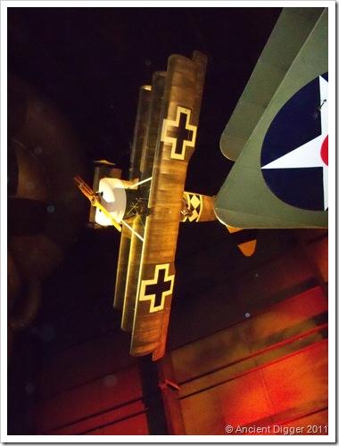 Fokker Dr. I plane