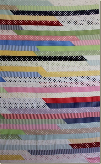 1600 Jelly Roll Quilt Cropped Image