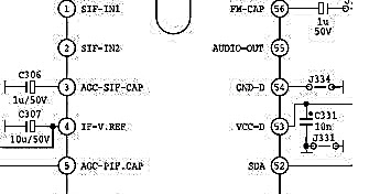 Gambar skema IC STV2286H ~ GBR Elektronik-Servis Tv