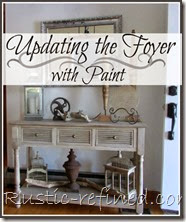 Updating the Foyer with Paint
