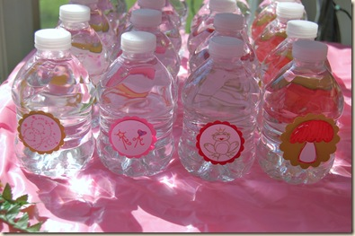 fairy bottle labels