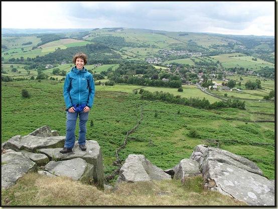 On Baslow Edge above Curbar
