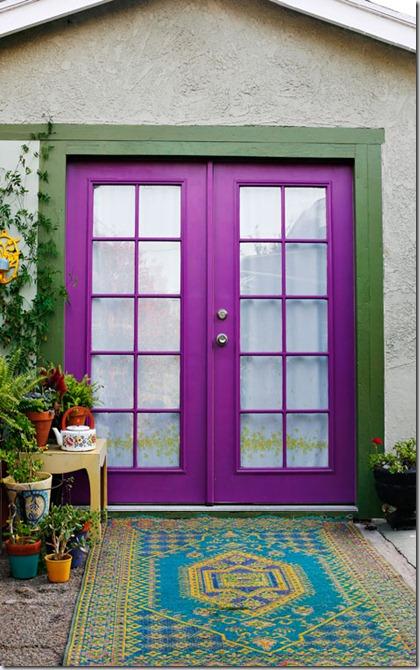 magenta-doors