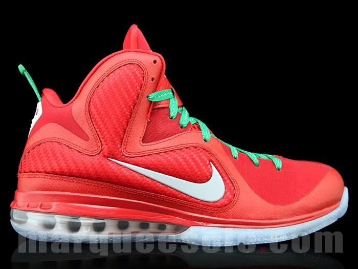 pretty nice adfe4 019cb ... Nike LeBron 9 8220Christmas8221 Exclusive 8211 New Photos ...