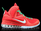 nike lebron 9 gr christmas 4 06 Throwback Thursday: Look Back at LBJs 2011 Christmas Shoes