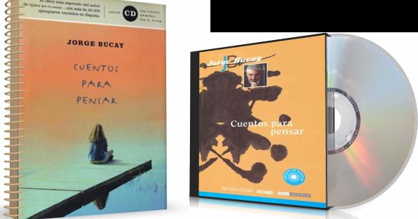 CUENTOS PARA PENSAR, Jorge Bucay [ Libro + AudioLibro