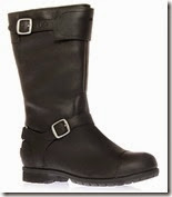 UGG Sheepskin Lined Leather Boots