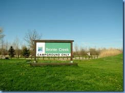 4353 Bronte Creek Provincial Park sign