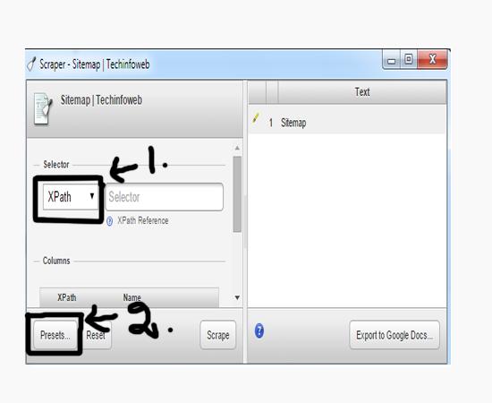 choose-xpath-preset-scrape-similar
