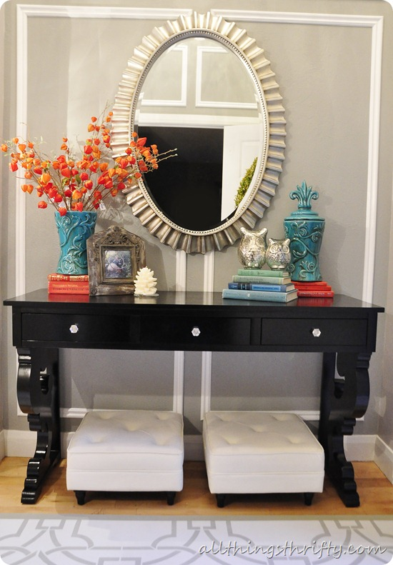 Entryway Makeover Reveal!!