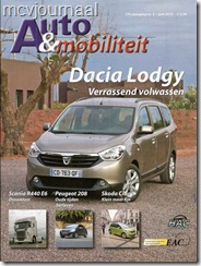 Dacia Lodgy test EAC 01