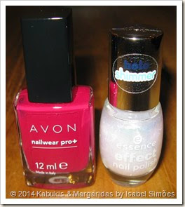 Avon Racy e Essence Pixie Dust
