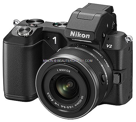 NIKON 1 V2 PRICE IN SINGAPORE SITEX 2012 EXPO SHOW DEALS super-high-speed AF CMOS sensor ISO range of 160 to 6400 plus advanced Hybrid Auto-focus system, new Nikon 1 V2 14.2 megapixel camera Live Image Control Smart Photo Selector,