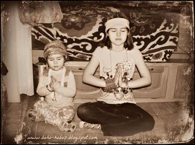 boho meditation