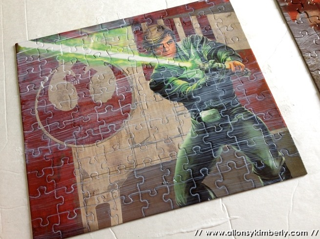 Bits of Home: Star Wars Puzzle Art | allonsykimberly.com
