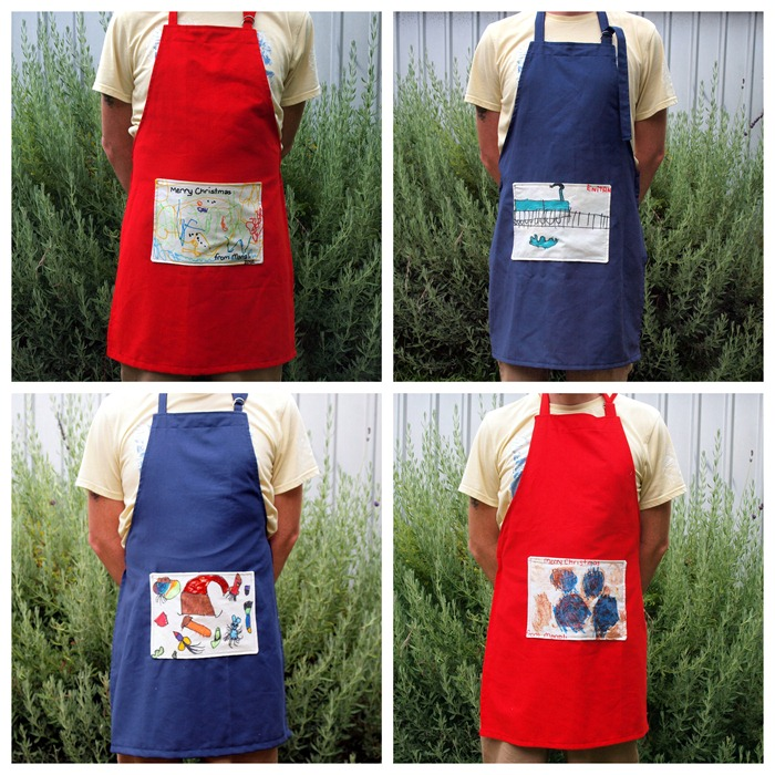 aprons for christmas