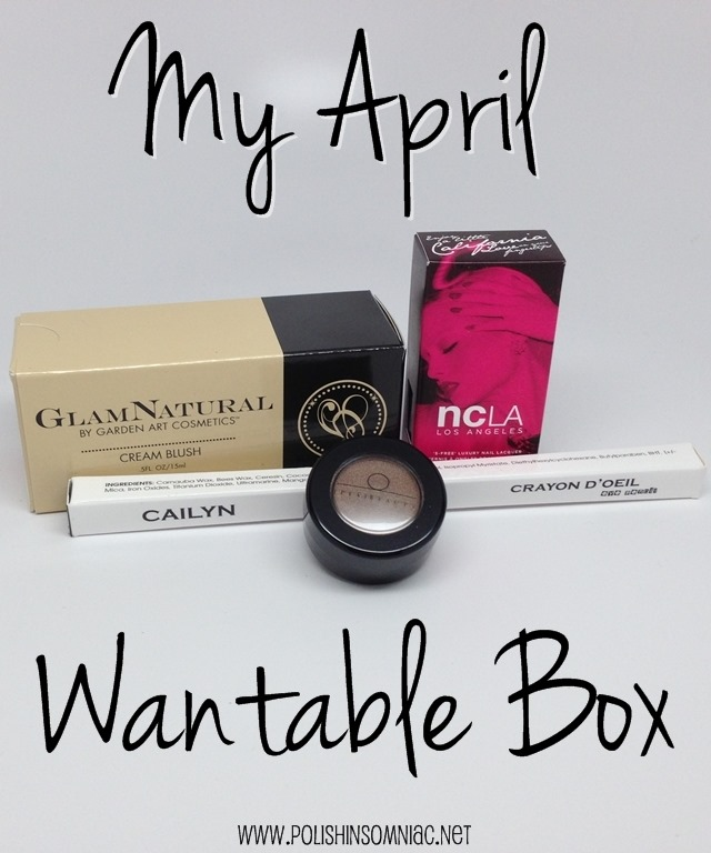 My April Wantable Box