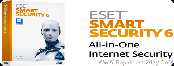 Download ESET Smart Security 6 All-in-One Internet Security Now with Anti-Theft New - Offline installer