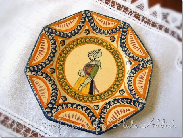 CONFESSIONS OF A PLATE ADDICT Vintage Quimper Collection