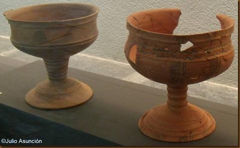 Grances copas de influencia ibera - Museo de Navarra