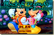Mickey e Friends – Find the Alphabets