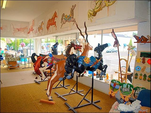 Carousel Paint Room