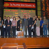 Philippine Stock Exchange Tour for 10th PRIC delegates
