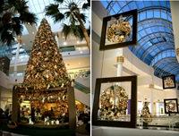 Decoração de Natal no Shopping Crystal em Curitiba