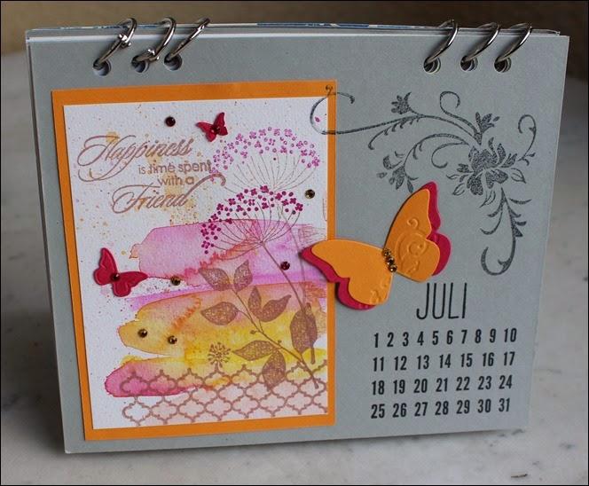 Tischkalender 2015 selbermachen basteln Blanko Vorlage 10