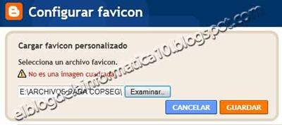 Favicon, nueva opción en Blogger