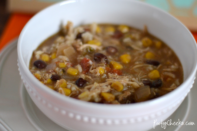 Crock Pot Recipe: Chicken Fajita Chowder