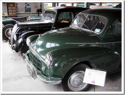 "1954 Morris Minor with a 1948 Morris Eight series ""E"""