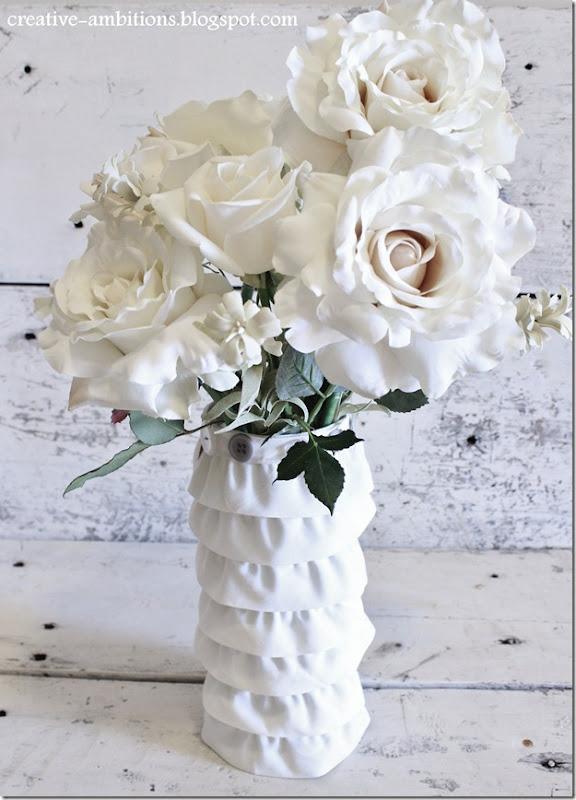 Ruffled Vase