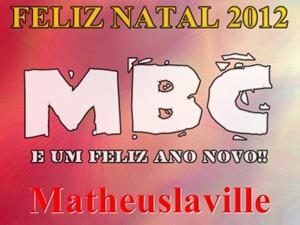 ASSINATURA MBC 2012 NATAL