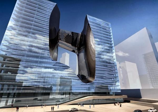 arquitectura-Zaha-Hadid-edificio-de-oficinas-opus-Dubai