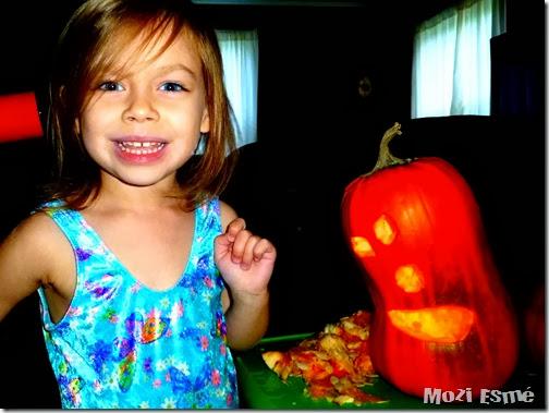 3yo Pumpkin