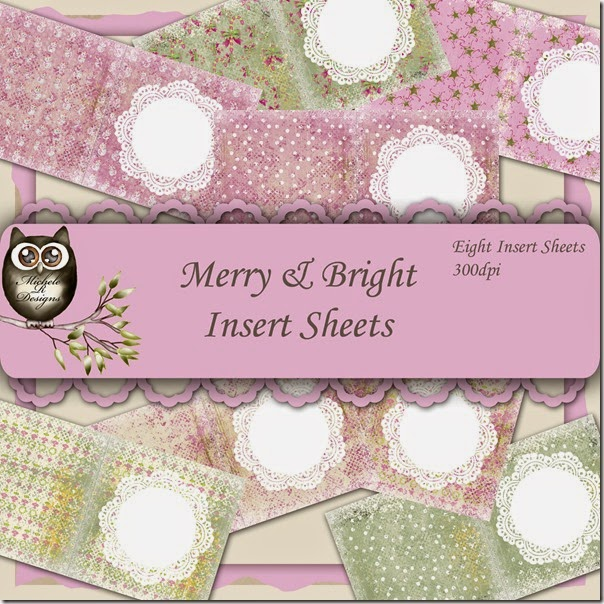 Merry & Bright Inserts Front Page