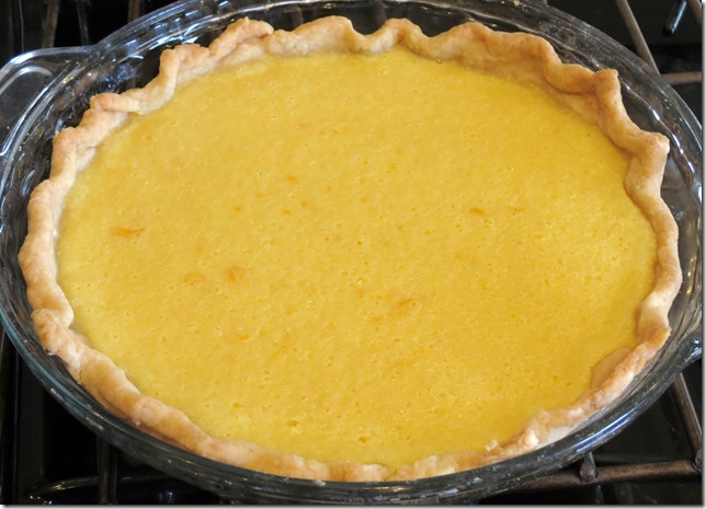 Meyer Lemon Buttermilk Pie 3-13-13