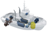 Rolls-Royce is to deliver engines and azimuth propulsion systems for two liquefied natural gas-fueled tugboats for Norway, said to be the world's first.