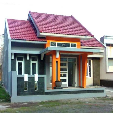 Contoh rumah type 45