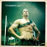 Trenton in Gladiator Harness