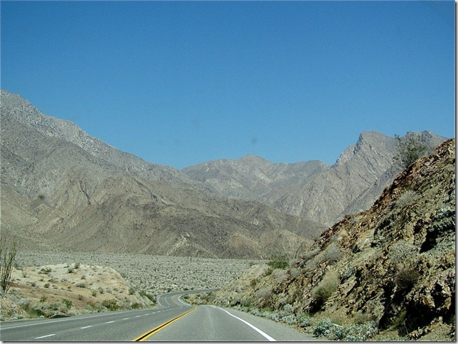 drive to borrego